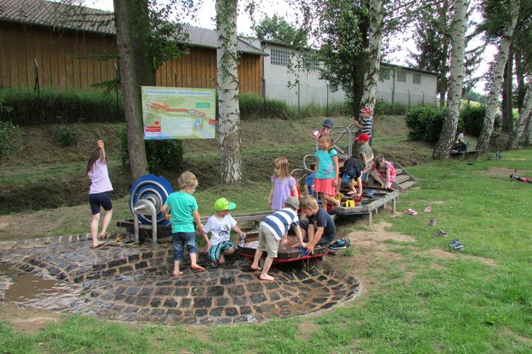 Wasserspielplatz Hersfelder Eckchen