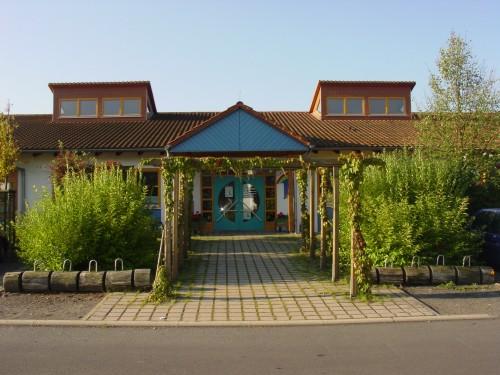 Eingangsbereich der Kindertagesstätte