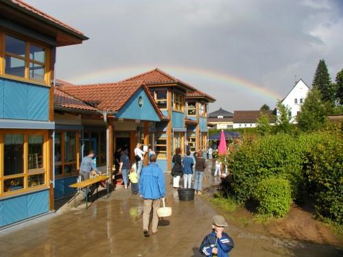 Kindertagesstätte Regenbogen, Außenbereich